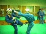 Учебные бои в клубе Варяг 17-01-2012